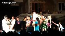 Public desi Telugu natukatti featuring local randis nude on stage [무대에서 stage]