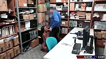 two ebony teen shoplifters busted by a dirty mall cop & yoga brazzers thumbnail