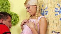 Teenyplayground Hot blonde babysitter fucked by... thumb