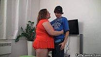 Big belly plumper rides young cock pornhub video