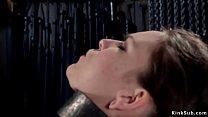Master shaves armpits to locked slave