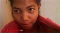 Thai teen heher deep give  morning blowjob deepthro creamthro after shower - 9Club.Top