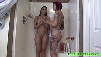 Anna Bell Peaks And Rachel Starr Sexy Shower - 9Club.Top