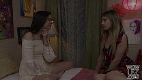 Georgia Jones and Kristen Scott trying lesbian sex - Girlfriends Films - 69VClub.Com
