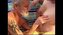 Teen feeds DIRTY Daddy her TITTY MILK