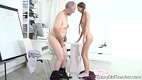 Tricky Old Teacher - Student Paris Devine fucke...