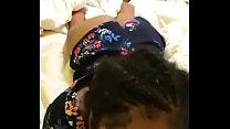 Ebony babe sucking good