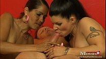 2 Bi-Girls besorgen es sich selbst und dem Nachbar - SPM RoxyAmandaTR09 - download porn videos