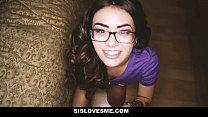SisLovesMe - Making My Step-Sis Swallow My Cum Vorschaubild