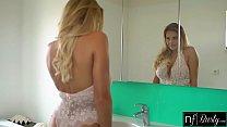 sunnys big adventure - Big Tit Blonde Fucks Roommates Huge Cock thumbnail
