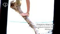 Making of 2011 Maxim Calendar - Amparo Mansilla