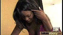 Hot ebony bukkake gangbang 13