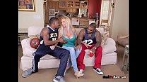 Busty MILF Brooke Tyler Blows Her Sons Friends