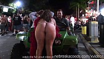 nude in the streets of key west florida for yearly fantasy fest festival
