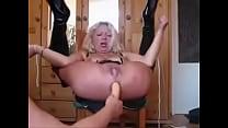 German Granny Squirting