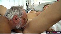 19 yo Aida Swinger pussy and ass eaten and banged by grandpa صورة