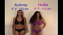 Hollie vs Aubrey porn thumbnail