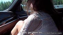 [katee owen video] - beautiful russian teen anal fucked pov outdoor thumbnail