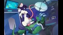 Jason Dragon Fucking Mouse Girl - YIFF Jasonafex - XVIDEOS com Thumbnail