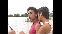 เรื่องเกย์ๆ ของสองหนุ่ม เอากันกลางแม่น้ำ กลางธรรมชาติ