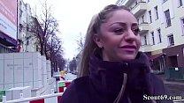 German Scout -Teen Dana-Jayn 23yr mit Mega Titten gefickt Vorschaubild