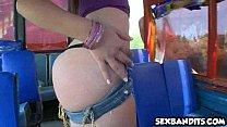 So sexy tiny latina babe gets handled 30