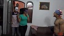 SetSexVídeos - Casal amador ChambinhoeNanaputinha em Gangbang - Coprodução com Binho Ted