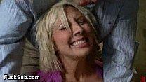 Tied up blondina anal destroyed pornhub video