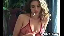 Tempting sweetheart smoking scene pornhub video