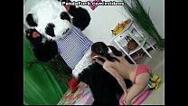 Порно с большим хуем панды