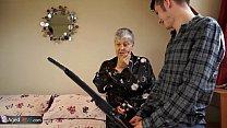 AGEDLOVE Granny Savana fucked with really hard stick [할머니 granny]