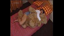 Japanese girl humping a teddybear, indonesia sex porn thumbnail