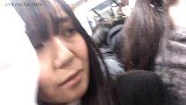 Real molester in Japanese train pornhub video
