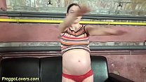 Young Cute Pregnant Teen Big Cock Fucked