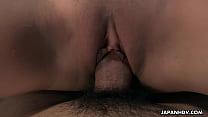 Japanese schoolgirl, Sayaka Aishiro is often sucking and fucking, uncensored