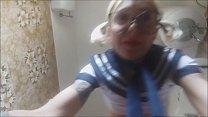 WONDERFUL! SEXY TOILET INCIDENT! this schoolgirl loves to pee! white socks and short skirt. spy her! صورة