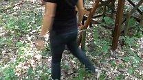 Spontaneous encounter in the woods Vorschaubild