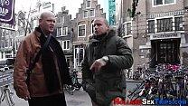 Dutch Whore Nailed Hard