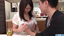 Sanae Akino blows hubby before going to work  -...