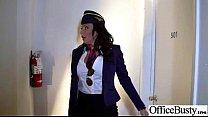 Superb Woker Girl (lezley zen) With Big Tits Get Hard Sex In Office clip-18