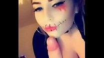 Amelia Skye Fucks and face sits for Halloween (...