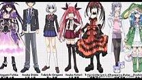 ecchi Top 10 Ecchi Harem Anime Pics1 ecchi