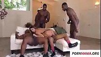 Brooklyn Chase em gangbang, anal, peitos grandes, interracial