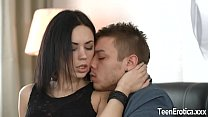 Beautiful Brunette Teen Sheri Vi Pleases a Cock with Her Mouth and Cunt - 9Club.Top