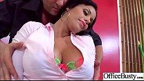 Big Melon Tits Girl (Mary Jean) Love hardcore Sex In Office video-17