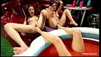 Lesbian foot fetish domination