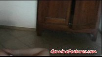 Gorgeous blonde Sandra has real orgasm - candy charms fucked thumbnail