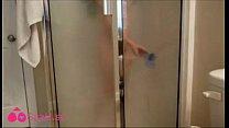 Dildo Fuck In shower