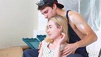 Ever-horny blonde babe Via Lasciva gets pussy &... Thumbnail