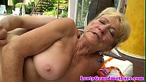 Saggy european grandma doggystyled outdoors pornhub video